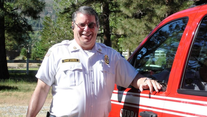 A submitted photo of Sierra Fire Protection District Chief Mike Greene, who served from 2007 to 2011.