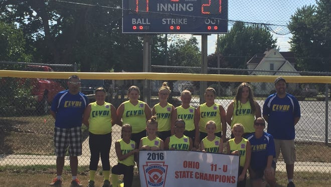 The Clyde All-Stars won a state championship in the 11-U Division.