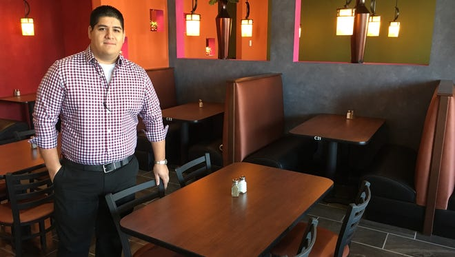 Roger Onate and his family own El Bracero Mexican Restaurants.
