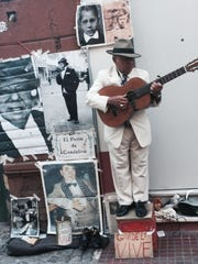 Music at San Telmo market—part of the tapestry of culture.