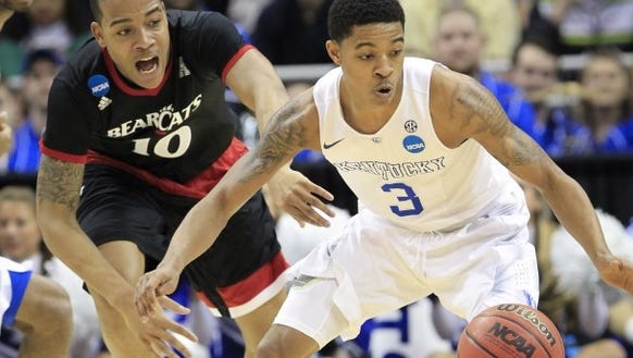 Point guard Tyler Ulis and the Kentucky Wildcats will