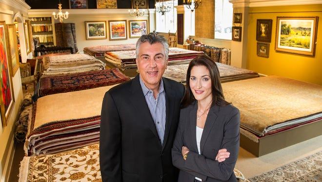 Kamran Karimpour and his wife Kristi Karimpour own Birmingham Design Studio in Birmingham.