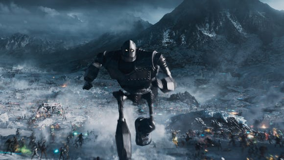 The Iron Giant returns in 'Ready Player One.'