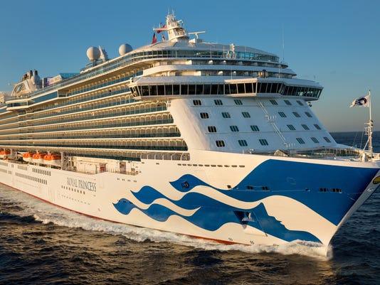 Princess Cruises: Woman dies in fall from ship Royal Princess