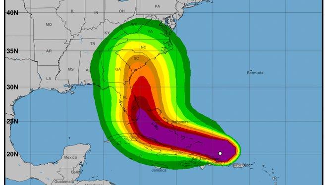 Irma 11 a.m. update