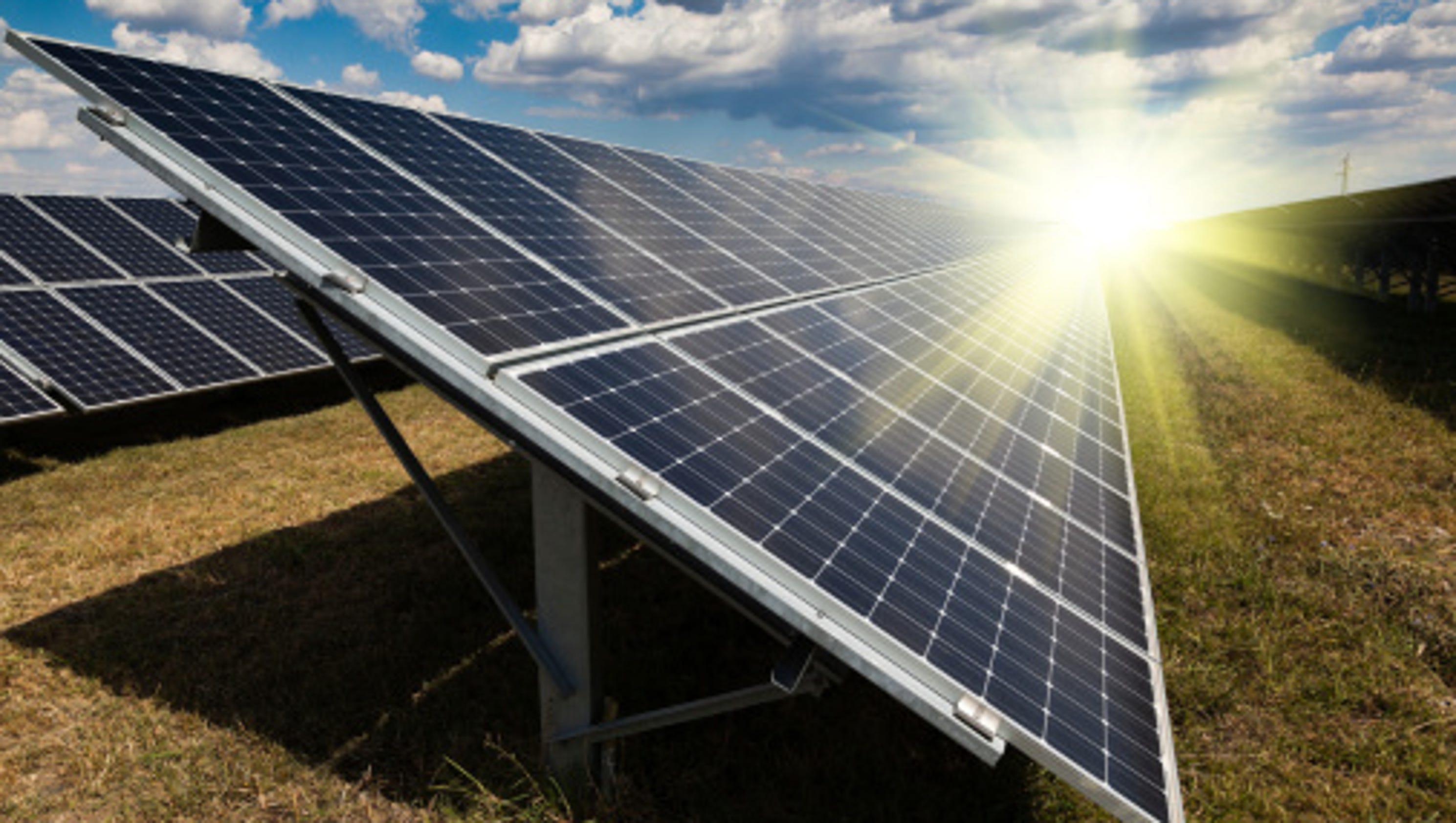 A Lone Star Leader In Solar