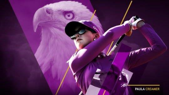 Paula Creamer at the LPGA Classic