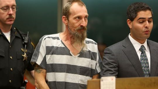Christopher McFerron appears in court Monday morning.