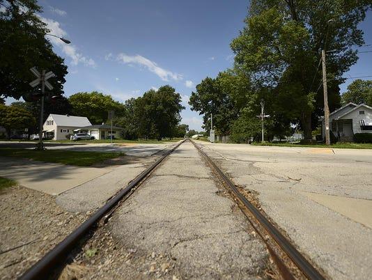 GPG Railroad crossings in Green Bay
