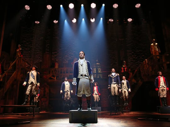 "Hit Broadway musical ""Hamilton"" will be making its way through Denver once again in 2020."