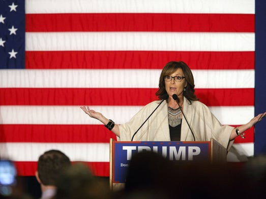 Sarah Palin is back, thanks to Donald Trump, but she