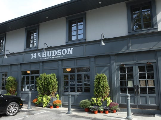 """14 and Hudson"""" located at 457 Piermont Avenue, Piermont, N.Y. where the owners are Chef Eric Woods and General Manager Paula Clemente Woods."""