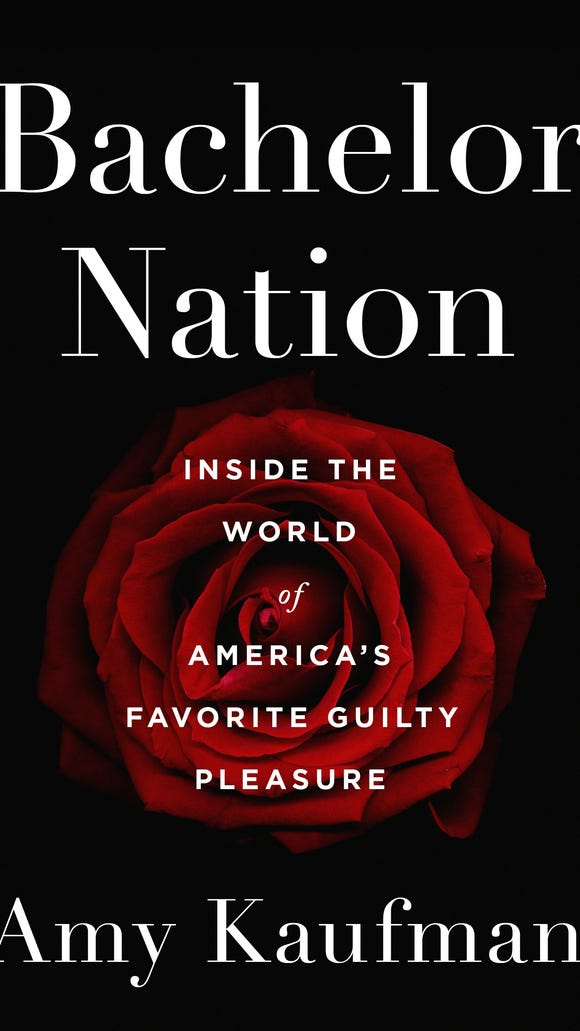 The cover of 'Bachelor Nation' available March 6.