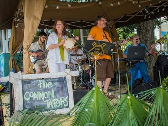 The Common Taters will join The Turn-Ups during Swamp Stomp on Saturday.