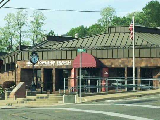 A Cincinnati and Hamilton County Public Library branch operates in the Miami Township Center.