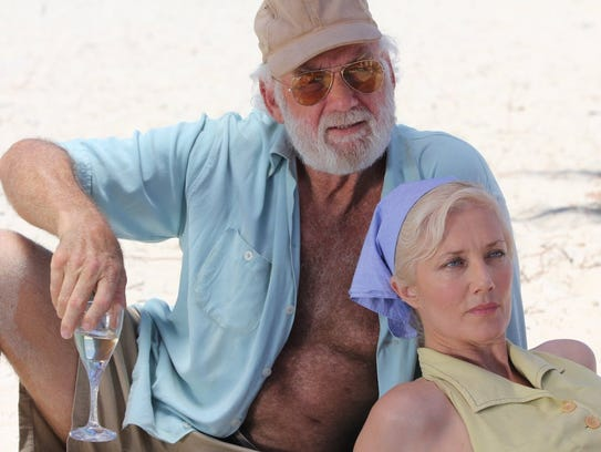 Adrian Sparks and Joely Richardson in a scene from