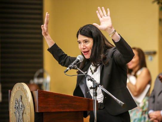Alycia Meriweather, DPSCD Interim Superintendent, speaks