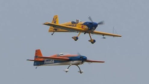 Chapman and Noll's precision flying.