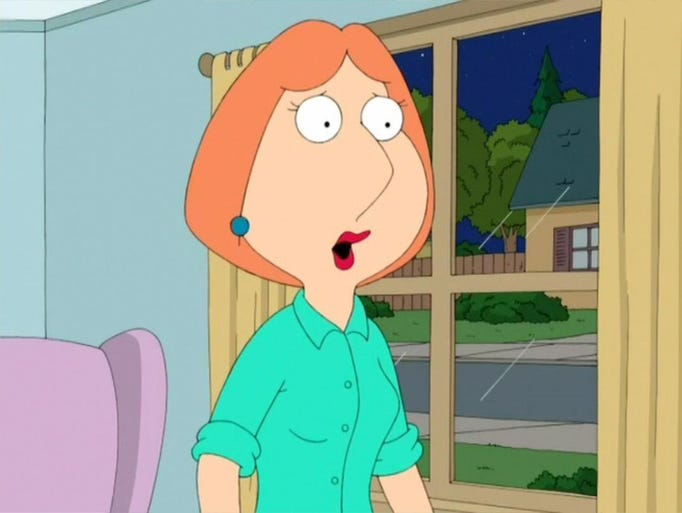 Lois Griffin, Family Guy, Free Vector download