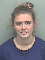 Kaitlyn Ecker, 20, is accused of letting her 2-year-old smoke meth and marijuana at her Crawfordville home