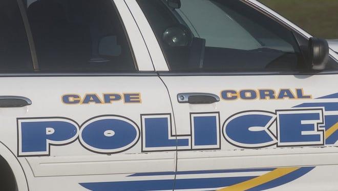 Cape Coral Police Department cruiser.