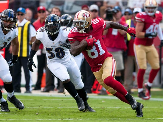 Before his one season in Detroit, Anquan Boldin spent three years playing for the 49ers.