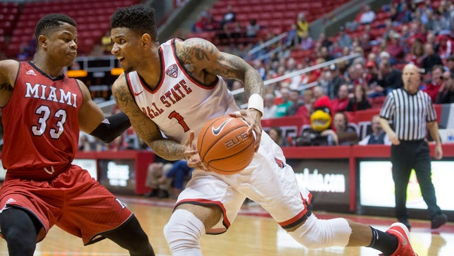After one season with the Cardinals, Naiel Smith is transferring. He averaged 2.7 points in 35 games for Ball State.