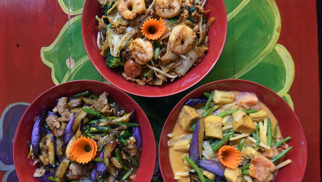 The upcoming Indochine Express in Monkey Junction will still feature some of the original restaurant's most popular dishes, including those pictured, but as more of a take out service.