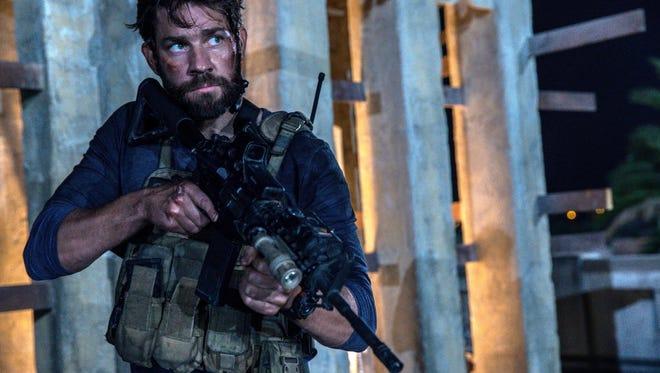 "John Krasinski as Jack Silva in ""13 Hours: The Secret Soldiers of Benghazi."""