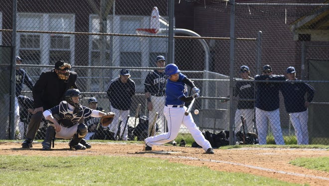 Myles Lesser is a returning pitcher and left fielder for Teaneck.