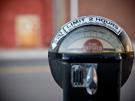 Parking Meter Urban