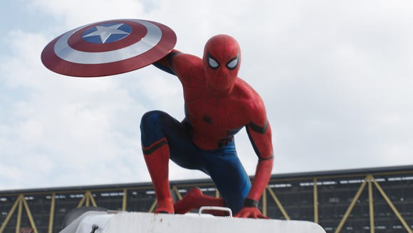 Captain America takes exception to Spider-Man (Tom