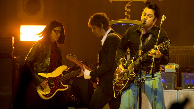 """The Raconteurs made a surprise appearance at Jack White's concert at Bridgestone Arena on January 29, 2015. The band is releasing a single for """"Steady As She Goes"""" as a Record Store Day exclusive on Black Friday in 2016."""