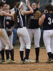 The Chambersburg softball team is one of two area unbeaten