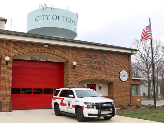 Dover City Manager Donna Mitchell said that repairs to a leaky roof at Robbin's Hose Company Station 2 have been deferred because of a shortfall in funding for fire and police capital projects.