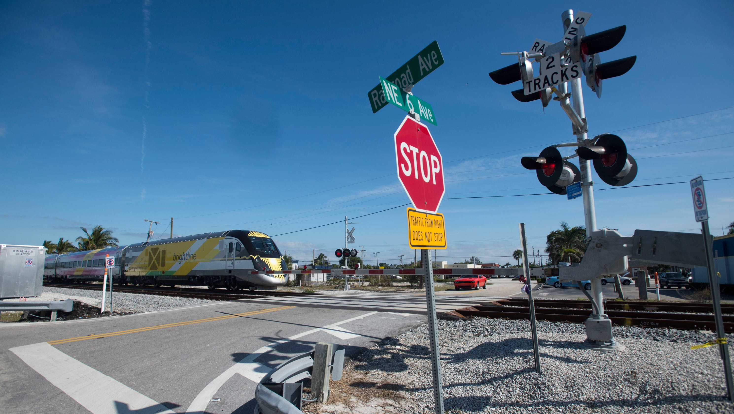 Third person in eight days hit by Brightline train; this time it's not fatal