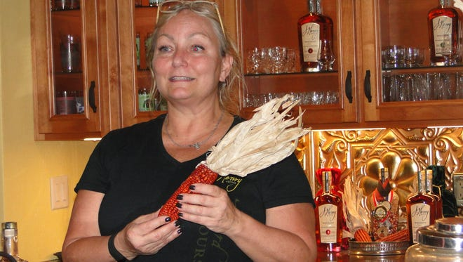 Liz Henry, a former Alice in Dairyland, is applying her communication skills marketing bourbon that her family is making with heirloom red corn, rye and wheat raised right on their own farm.  The Henry family has been in the seed business for several generations, and the addition of the bourbon business is their latest venture.