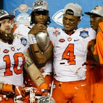 Clemson tops Va. Tech in ACC title game, 42-35, perhaps clinches CFP