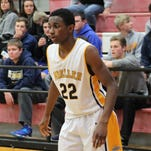 Moeller's Trey McBride had 10 points and eight rebounds in Friday's 55-19 win over Sycamore in a Division I sectional game.