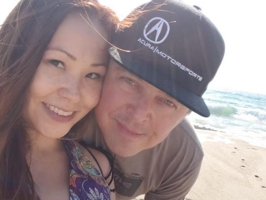 Tanya Nguyen is seen with her husband in this photo from a GoFundMe page set up to help with her medical bills.