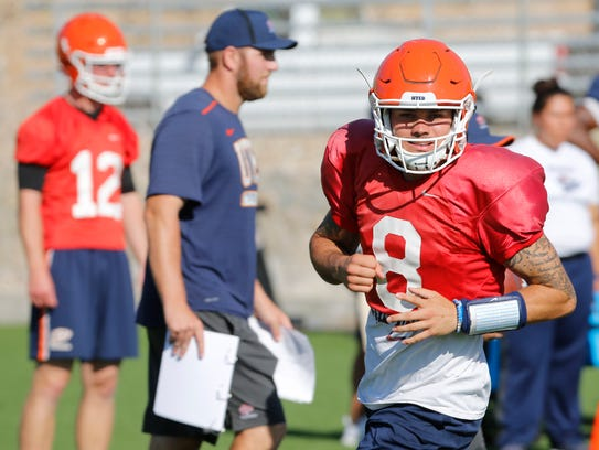 UTEP starting quarterback Ryan  Metz will be out of