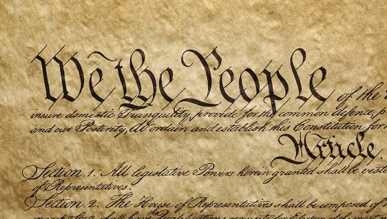 We the People - Preamble to U.S. Constitution