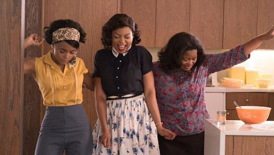 Hidden Figures is the story of Katherine G. Johnson, Dorothy Vaughan and Mary Jackson who are African-American women working at NASA.