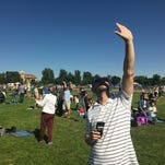 Solar eclipse fanatics already trying to find prime locations for the 2024 event