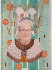 """""""Leslie"""" is one of the six portraits in Amy Fleming's """"Age of Experience"""" show."""