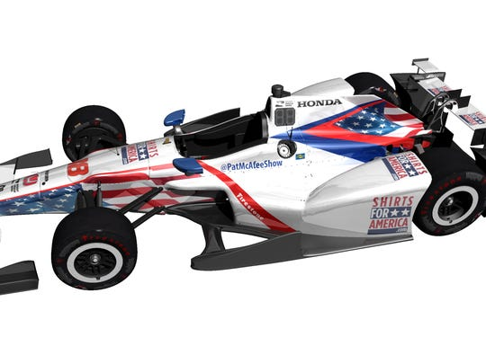 What Conor Daly's ride will look like in this year's Indy 500.