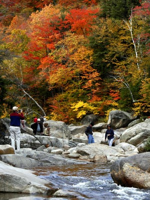 To accommodate and prepare for an increased number of expected hikers, NH Parks requires an advance day use reservation. Visit