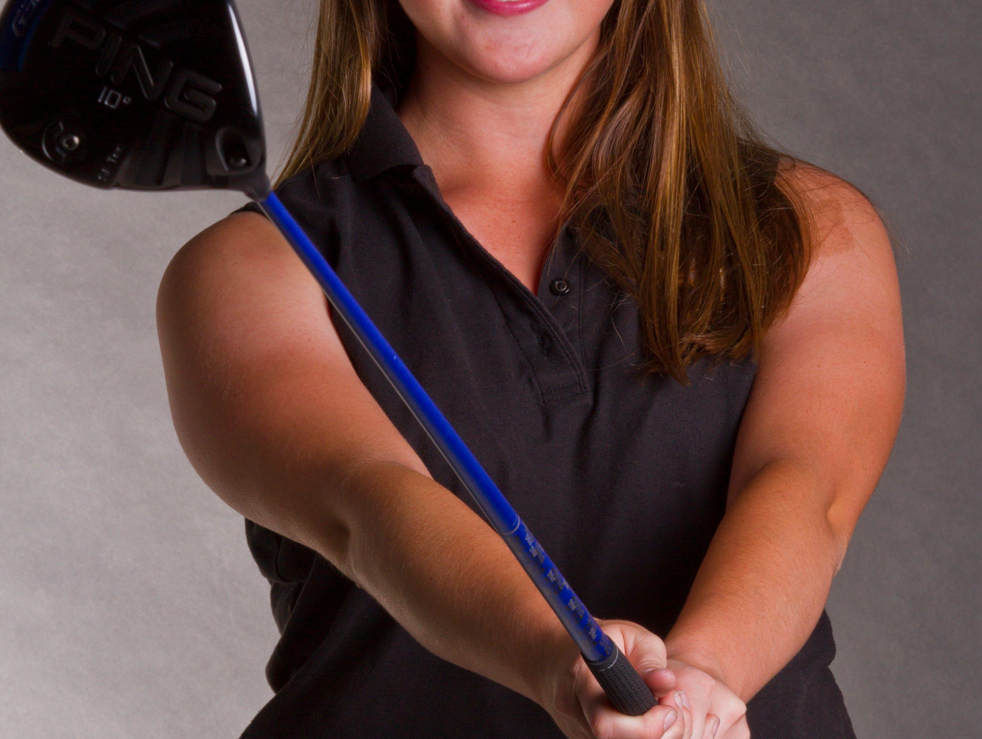 Hallianne Hobson, 17, Bishop Verot High School; All Area Golf - 2015-2016 school year