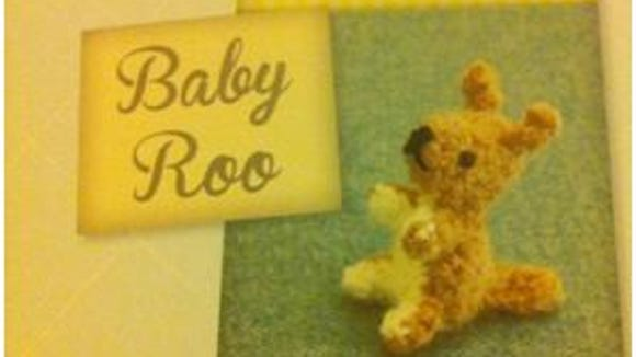 You can make this cute little baby Joey to go with the Momma Kangaroo in the book.