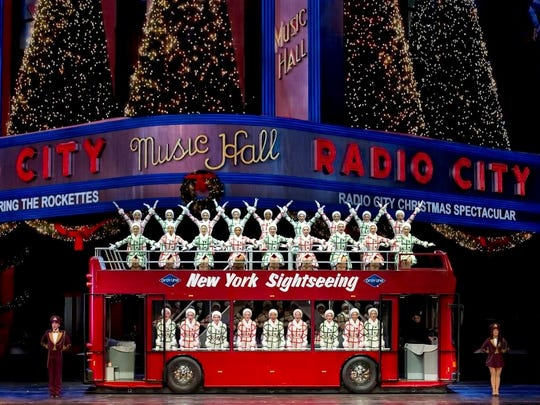 Let the Rockettes be your tour guide to the Christmas